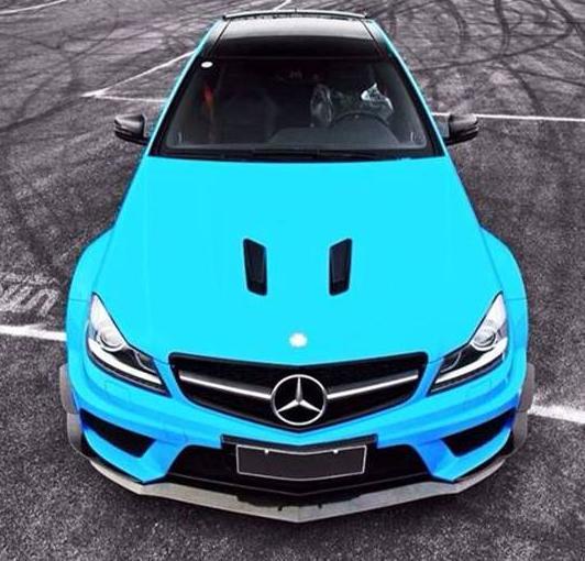 Mercedes C63 AMG Facelift 'Black Series' Body Kit