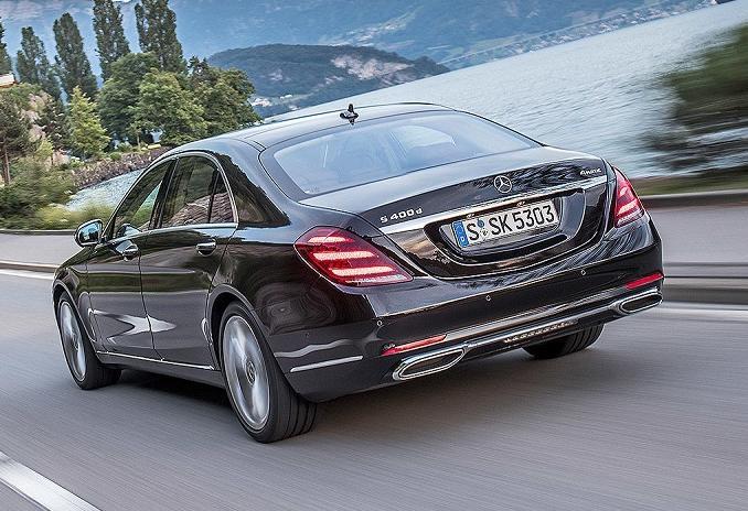 Mercedes S-class facelift (2)