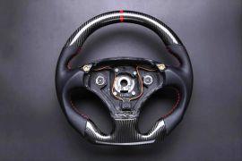 Aston Martin carbon fiber enhanced - custom steering wheel