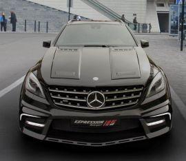 Mercedes ML 63 AMG W166 wide body kit