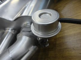 HMS Exhaust system for Mercedes-Benz GT C190