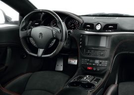 MASERATI carbon fiber enhanced - custom steering wheel