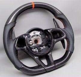 McLAREN carbon fiber enhanced - custom steering wheel