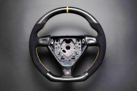 Porsche carbon fiber enhanced - custom steering wheel