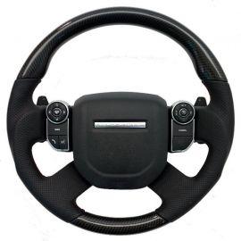 RANGE ROVER carbon fiber enhanced - custom steering wheel