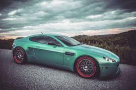 Aston Martin Vantage Carbon Fiber Rear Spoiler