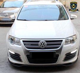 Volkswagen Passat R36 Carbon Fiber Front Lip Spoiler