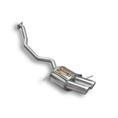 Supersprint  Rear exhaust Left OO 90  BMW E53 X5 4.4i V8 '04  '06