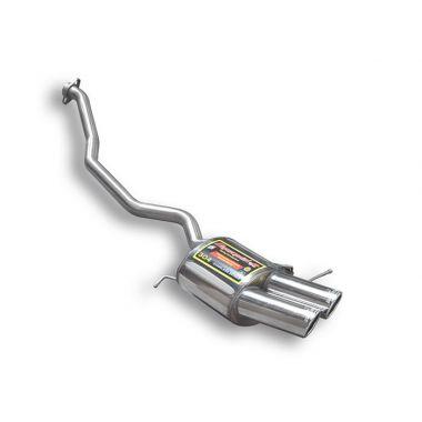 Supersprint  Rear exhaust Left OO 90  BMW E53 X5 3.0d ' 01 –› ' 04