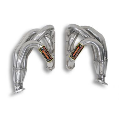 Supersprint  Manifold Right + Left for OEM catalytic converter  PORSCHE 996 Carrera 3.4i '96  '01