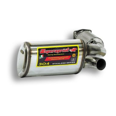 Supersprint  Metallic catalytic converter + Rear exhaust Right  . PORSCHE 996 Turbo S 3.6i ( 450 Hp )
