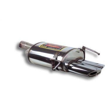 Supersprint  Rear exhaust VIPER 185 x 70 MERCEDES W203 (Sedan + S.W.) C 180 K (1.8L. / 143Hp) '03