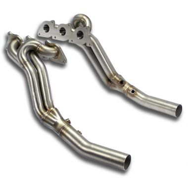 Supersprint  Manifold Right - Left (Left Hand Drive)  MERCEDES W203 (Sedan + S.W.) C 350 V6 (272 Hp) '05  '06