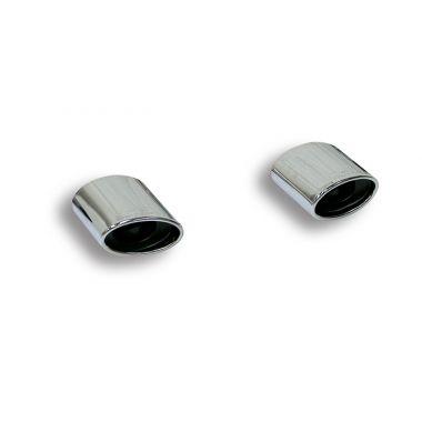 Supersprint  Endpipe kit Right - Left 145x95  MERCEDES W204 C 200 Kompressor (184 Hp) '07 '10