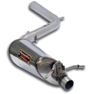 Supersprint  Rear exhaust Left  MERCEDES W204 C 180 CGI (1.6i 156 Hp) '12 '14