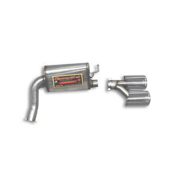 Supersprint  Rear exhaust Right 120x80  MERCEDES W211 E 200 Kompressor (184 Hp) (Sedan + S.W.) '06 '09