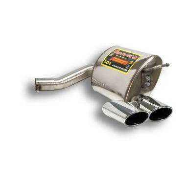 Supersprint  Rear exhaust Right 120x80 E.E.C. homologation pending MERCEDES W211 E 500 / E 550 V8 (388 Hp 4v) (Sedan + S.W.) '06'09