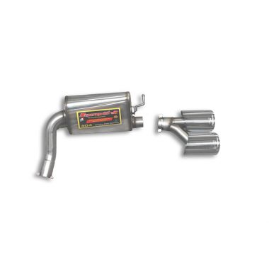 Supersprint  Rear exhaust Right 120x80  MERCEDES W211 E 320 CDi (224 Hp)(Sedan + S.W.) '06 '09