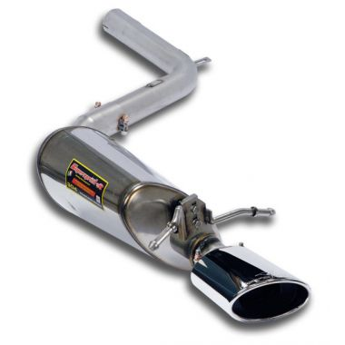 Supersprint  Rear exhaust Left 145x95  MERCEDES C207 E 350 CGI Coupe V6 (292 Hp) 2009