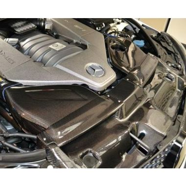 Mercedes Benz C63 AMG Carbon fiber Cold Air Intake - FRONT