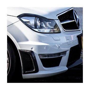 Mercedes C63 AMG Facelift Carbon fiber front bar vents
