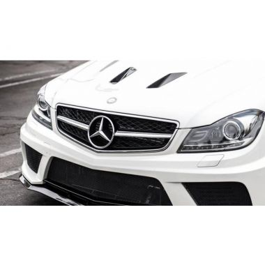 Mercedes Benz C63 AMG Facelift + c63 amg Black Series Carbon fiber bonnet vents