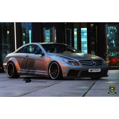 PRIOR-DESIGN PD Black Edition V2 Mercedes CL [W216] Widebody Aerodynamic-Kit