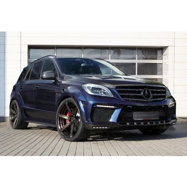 TOP CAR Mercedes ML 63 AMG W166 widebody kit 'INFERNO'