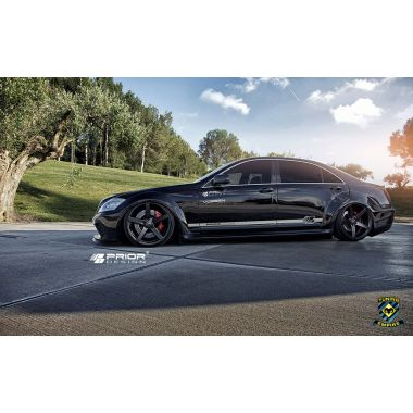 PRIOR-DESIGN Mercedes S-Class W221 PD Black Edition V2 Widebody Aerodynamic-Kit