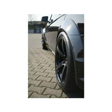 MERCEDES C63 AMG rear fender extensions - carbon fiber version