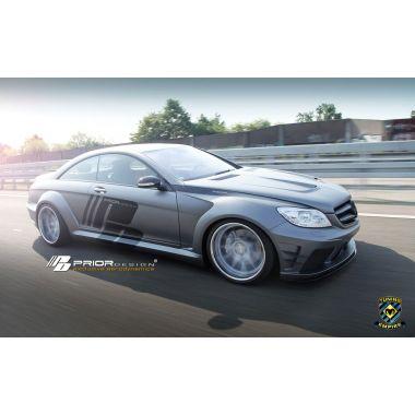 PRIOR-DESIGN PD Black Edition V2 Mercedes CL [W216FL] Widebody Aerodynamic-Kit
