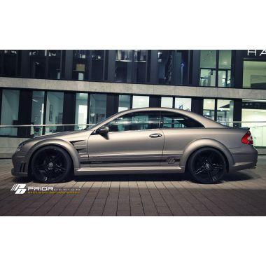 PRIOR-DESIGN PD Black Edition Widebody Aerodynamic-Kit for Mercedes CLK W209