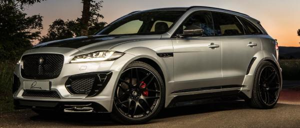 LUMMA Body kit for Jaguar F-PACE 'S'