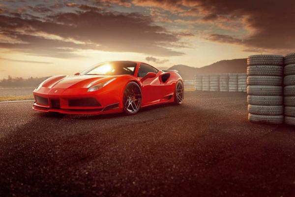 Novitec N-Largo widebody kit for Ferrari 488 GTB & 488 Spider