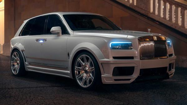 Rolls-Royce Cullinan Gets Big Wheels And Power From Tuner