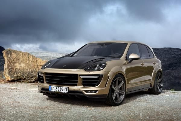 Porsche Cayenne body kit by Top Car