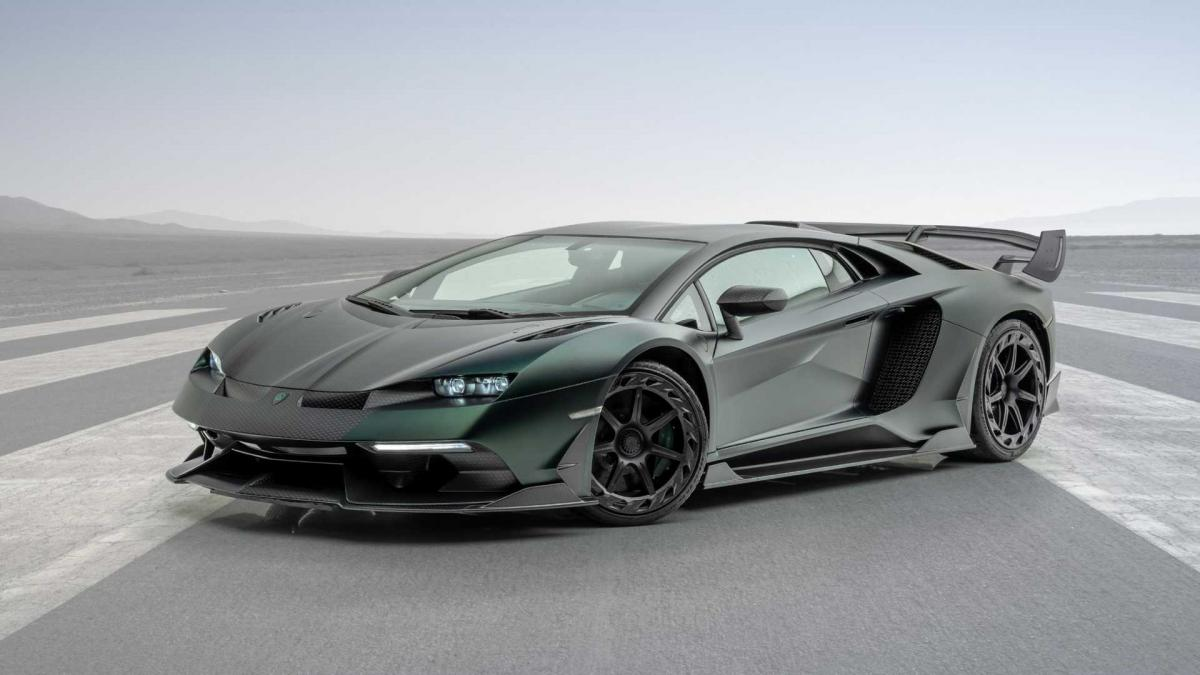 Mansory Cabrera Makes The Lamborghini Aventador SVJ Even Wilder