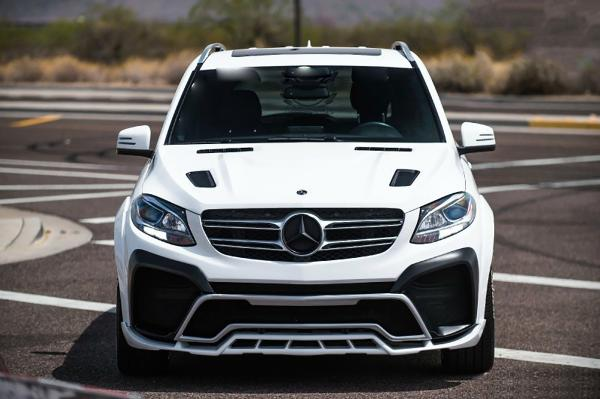 Renegade Mercedes Benz GLE body kit