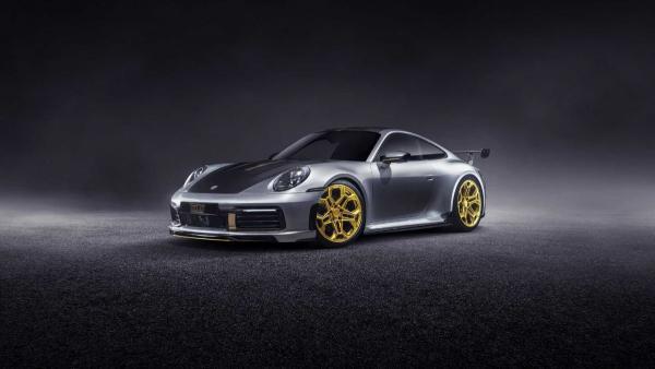 Porsche 911 By TechArt Has More Power, Visual Upgrades
