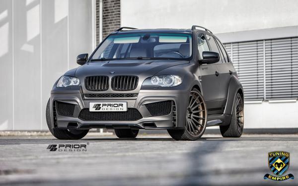Prior Design widebody kit for BMW X5 E70
