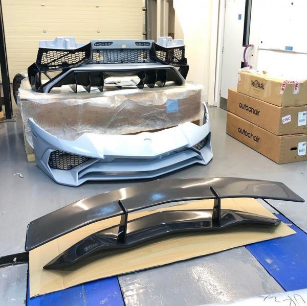Lamborghini Aventador LP 750 Super Veloce body kit