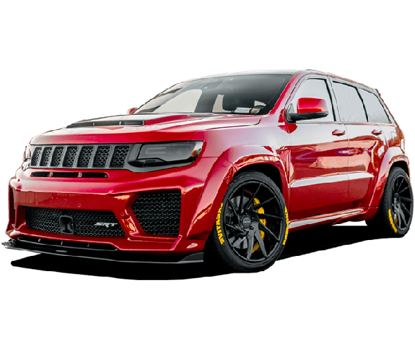 Renegade Jeep GC Trackhawk Tyrannos V3 body kit