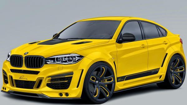 LUMMA Desgin CLR-R upgrade kit for BMW X6 2015