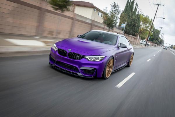 Featured Fitment: BMW M4 with Vorsteiner V-SF 001 Wheels