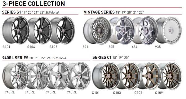 HRE Wheels for Mercedes GL-Class