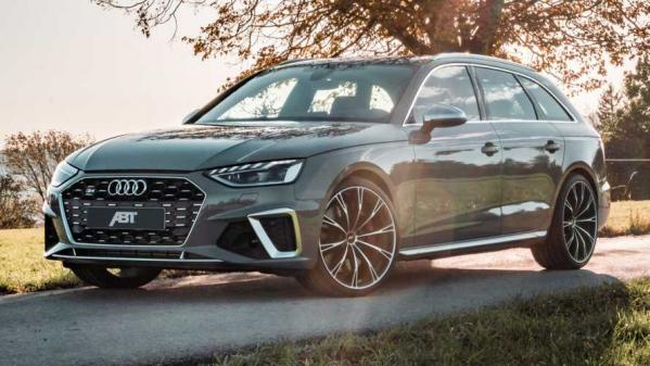 2020 Audi S4 Gets Bigger Wheels, Extra Diesel Power From ABT