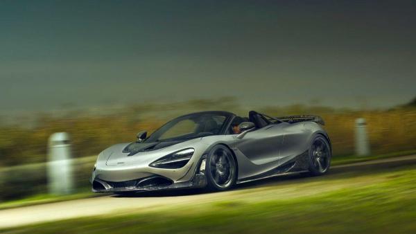 McLaren 720S Spider Gets Carbon Fiber Dose From Novitec