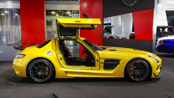 Another happy customer - Mercedes SLS AMG Black Series kit