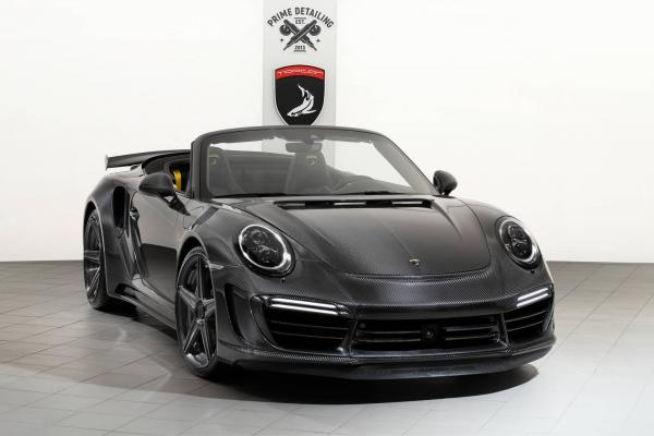 TopCar Carbon Editions for Porsche Panamera and 911 Turbo S
