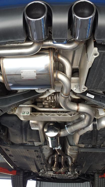 ANOTHER HAPPY CUSTOMER - Supersprint exhaust system on VW GOLF R32 V